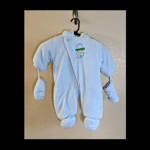 Absorba Blue Infant Snowsuit 3-6 months